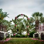 Weddings Ceremonies Powel-Crosley Estate arch