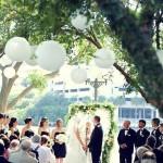 Weddings Ceremonies at Westin Harbor Island paper lantern ceremony