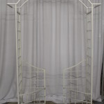 White Iron wedding Arch for rent