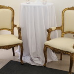 Antique Gold chairs Rentals