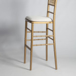 Chiavari Chair Stool Gold