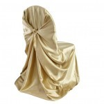 self-tie chair cover rental champagne