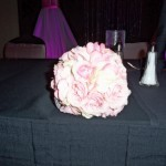 pink small roses Pomander Ball