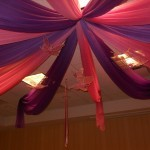 Purple and pink quinceanera