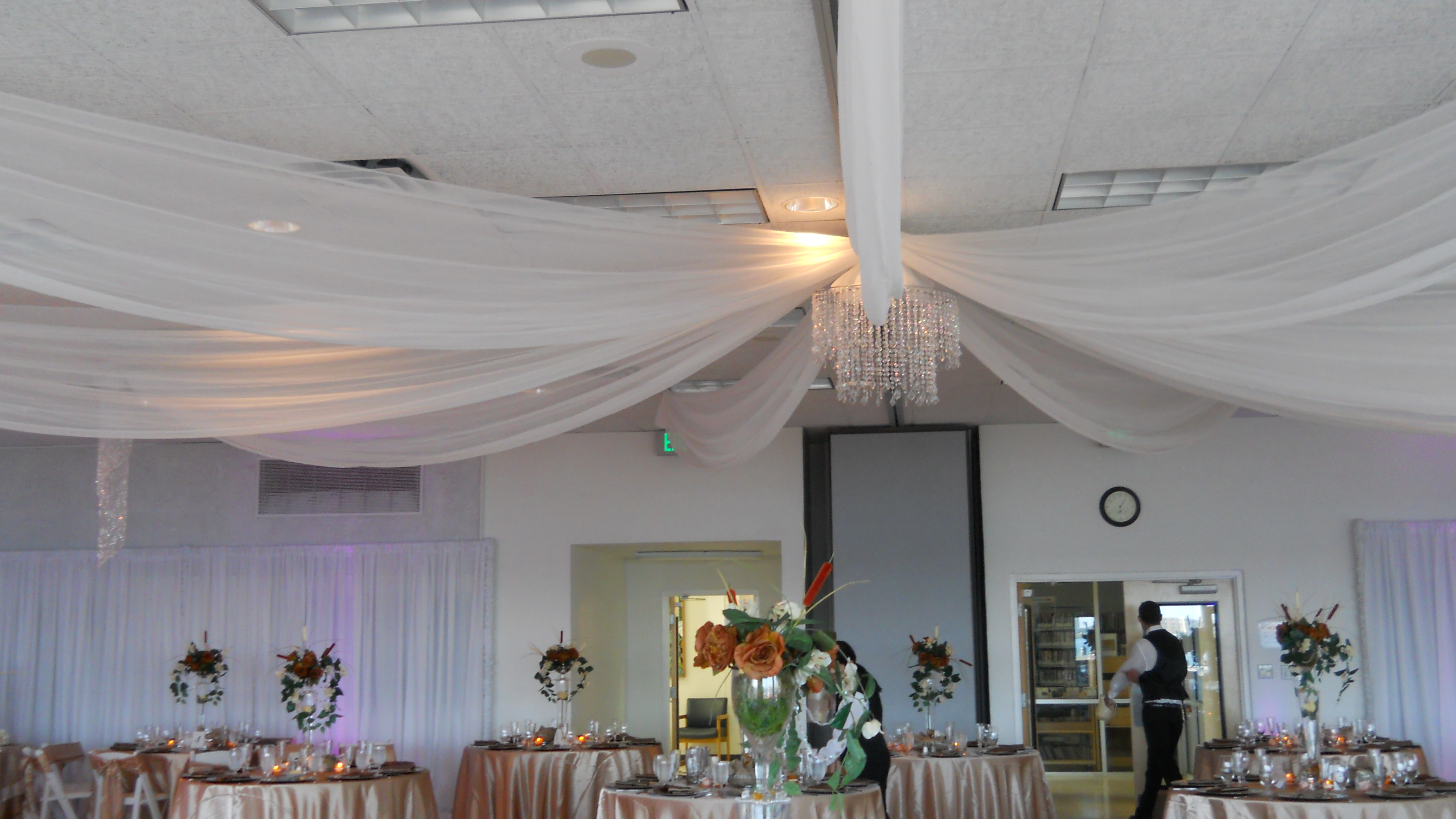 Clearwater Rec Center Ceiling Drape