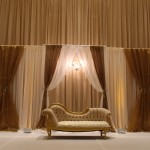 gold and ivory stage