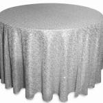 Glitz sequins tablecloths rentals