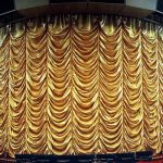 Austrian Curtain Gold